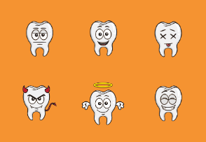 Tooth Emojis for Dentists