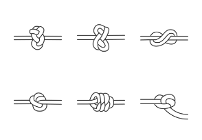 Types of nautical knots