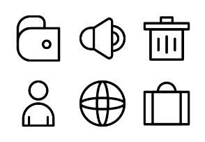 UI Element Line