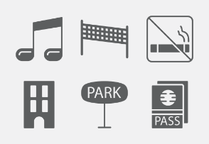Vacation and Travel Glyphs vol 3