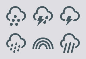 Weather icons 1