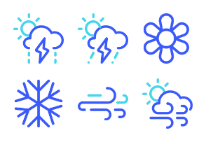 Weather Set from Iconspace