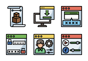 Web Development  Filledoutline