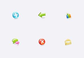 Web Application Icons Set
