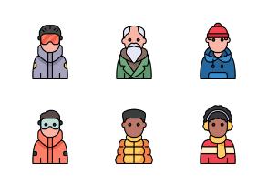 Winter Avatars