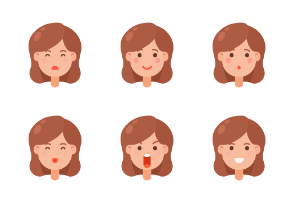 Woman Emoji Color