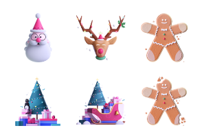 Wonderful Christmas 3D