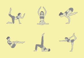 Yoga Poses | scribble