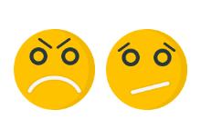 Emoticons flat icons