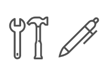 Lined tools