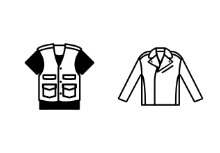 Men Clothes lineal