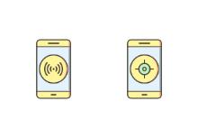 Mobile Apps Filled Outline
