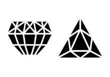 Precious Stones and Gems - Solid